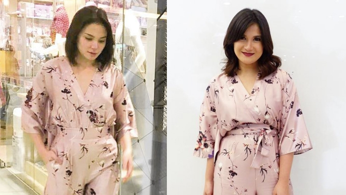 Twinning moments of sisters-in-law Camille Prats and Isabel Oli | PEP.ph