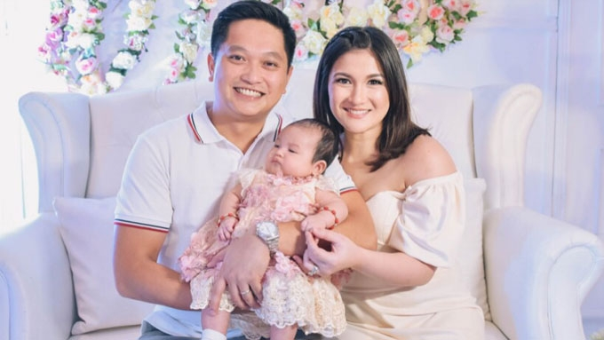 Camille Prats grateful for hubby who shares parenting duties
