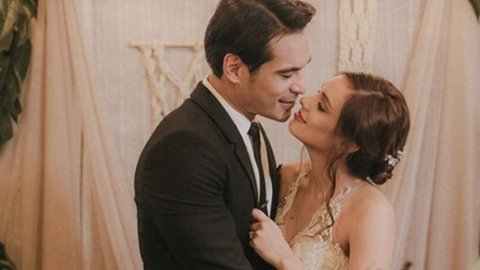 Max Collins and Pancho Magno's emotional wedding vows