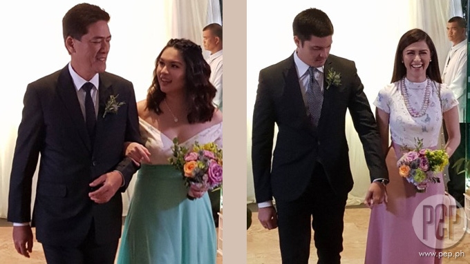 Ai-Ai delas Alas and Gerald Sibayan's star-studded wedding