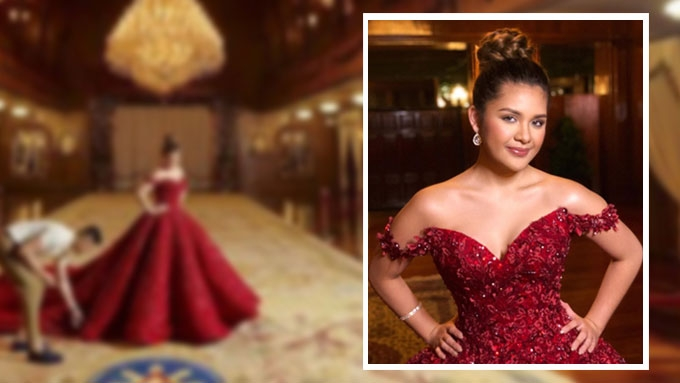 Isabelle Duterte's pre-debut shoot in Malacañang Palace