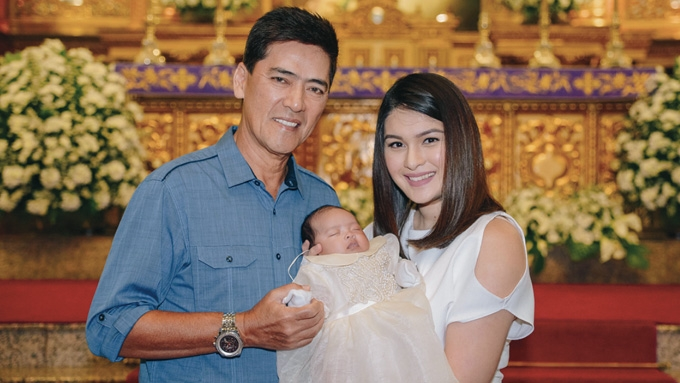Vic Sotto and Pauleen Luna reveal Baby Talitha's trait