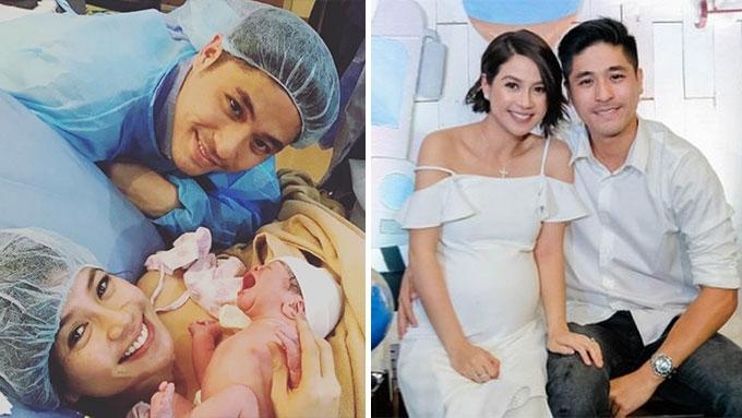 Kaye Abad gives birth to Baby Joaquin