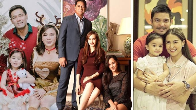 Christmas Family Portraits.Celebrity Families And Their Picture Perfect Christmas