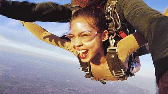 What Maine Mendoza learned while skydiving in Miami