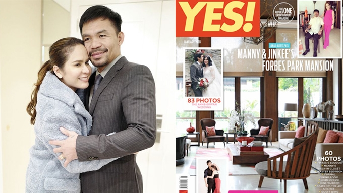 Manny and Jinkee Pacquiao's PHP388 million mansion