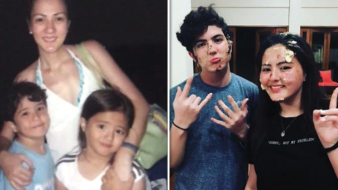 Cassy and Mavy Legaspi turn 17 years old