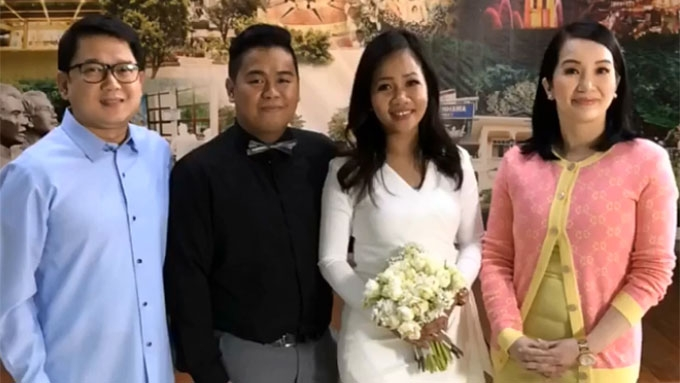 Kris Aquino's Yaya Raquel is finally married!