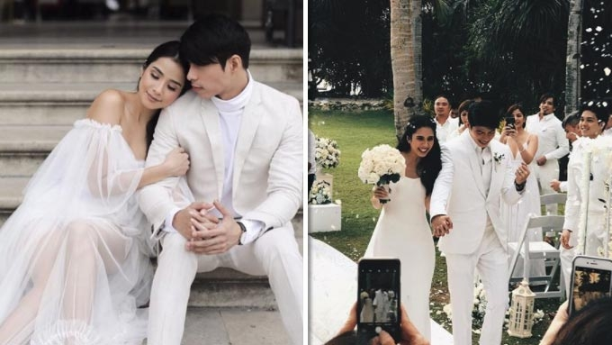 The all-white wedding of Maxene Magalona and Rob Mananquil
