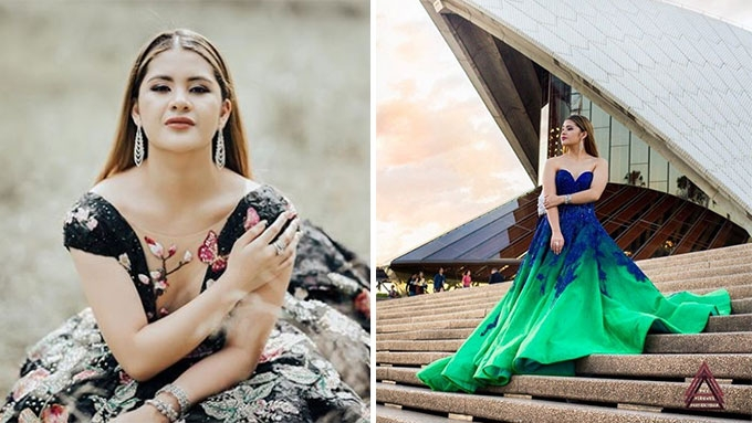 Isabelle Duterte's pre-debut video shot in Australia