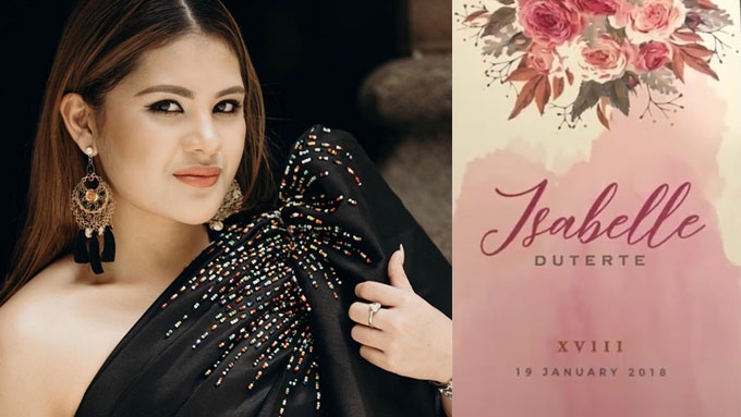 Isabelle Duterte's invite preempts grandness of her debut