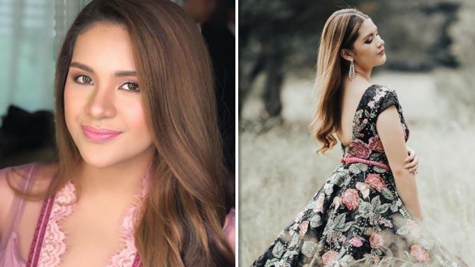 A first look at Isabelle Duterte's debut gown