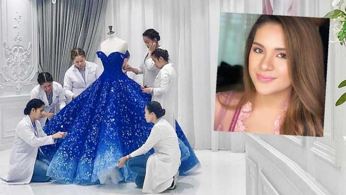 Isabelle Duterte's gown and other details of her grand debut