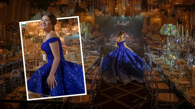 The cost of Isabelle Duterte's dream debut