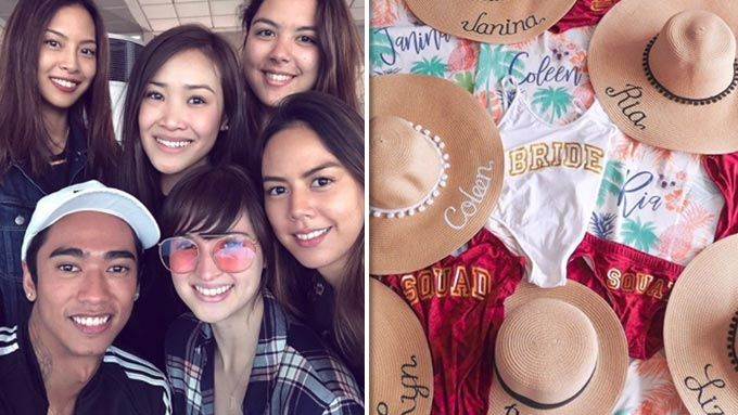 Coleen Garcia kicks off bachelorette party in Hawaii