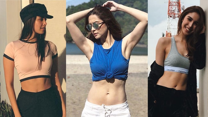 12 celebrities with tiniest waistlines