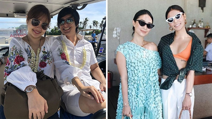 Celebrity couples, duos, and star sightings at Amanpulo