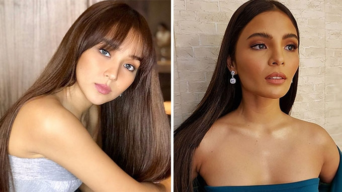 Kathryn, Lovi, and more stars go for glossy straight hair
