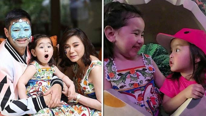 Scarlet Snow Belo turns three years old!