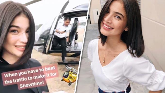 Anne Curtis beats Manila traffic in a bongga way
