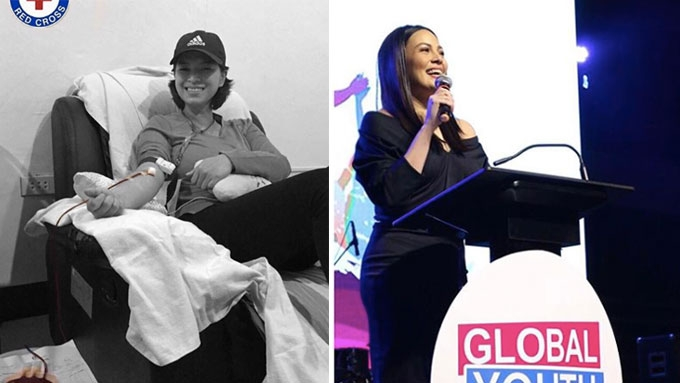 How these Filipina celebrities use fame for the greater good