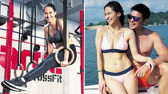 Dingdong happy to get Marian to join his workout sessions