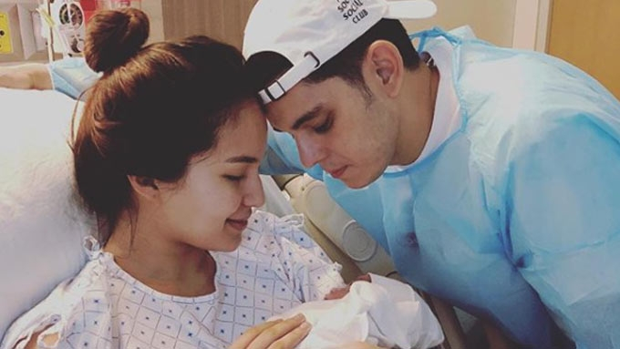 Here's our first look at Baby Kai Gutierrez
