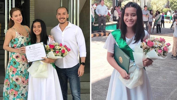 Macky Mathay proud of Sunshine Cruz's daughter, Chesca