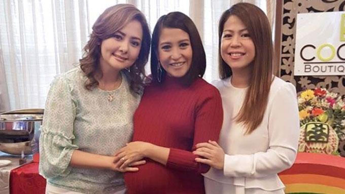 <em>Ang TV </em>ladies reunite at Jolina Magdangal's baby shower