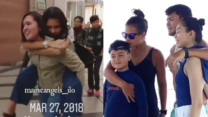 Wonderful celebrity family snaps this Holy Week 2018