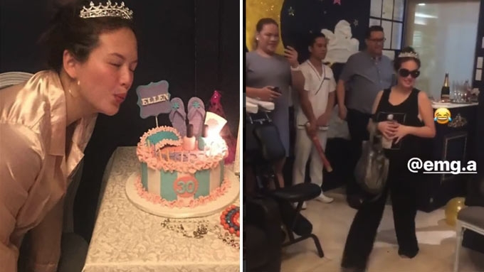 Ellen Adarna gets wish on 30th birthday: a spa party