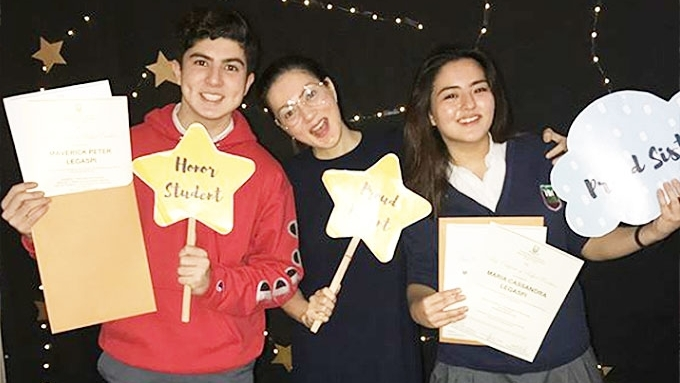 Carmina and Zoren's twins are academic achievers