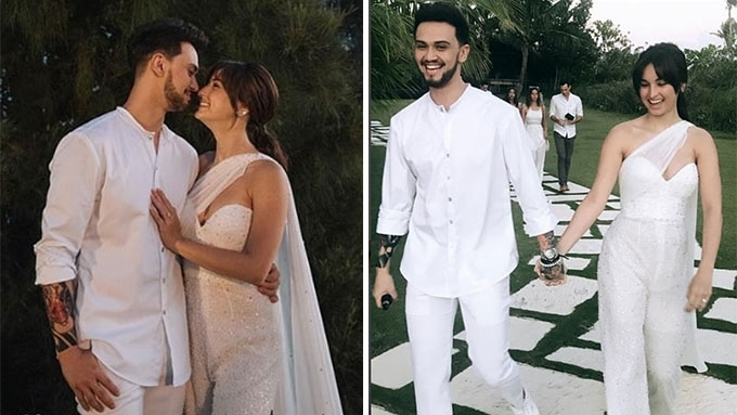 Billy, Coleen welcome wedding guests at Balesin