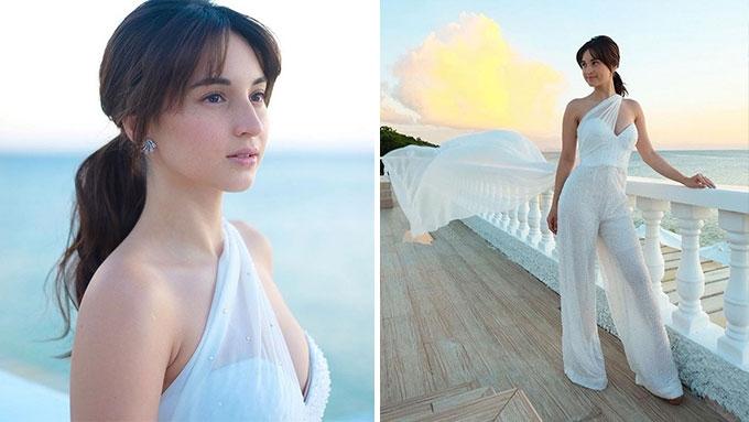 Coleen Garcia blooms in her first bridal look