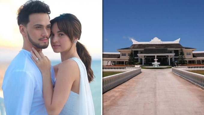 A look at Coleen and Billy's wedding venue in Balesin
