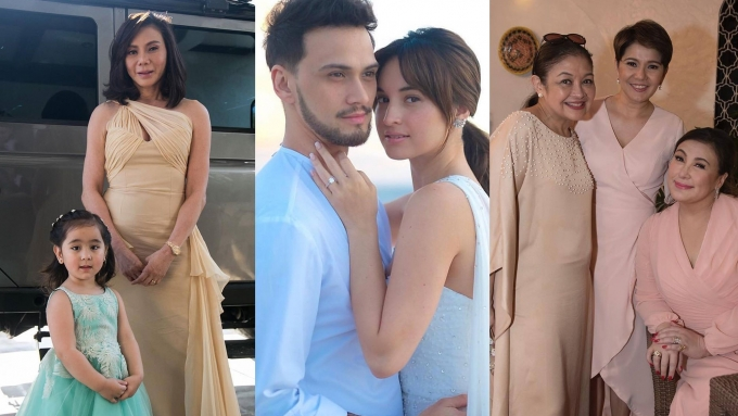 Coleen Garcia and Billy Crawford's star-studded guest list