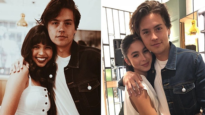 Maine Mendoza, Julia Barretto, etc. get to hug Cole Sprouse
