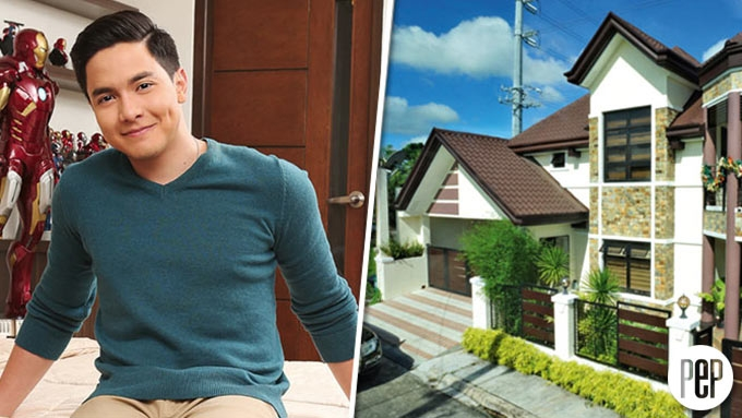 Alden Richards's family mansion in the south