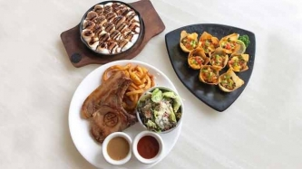 This restaurant in Ortigas serves juicy sous-vide steaks and chops