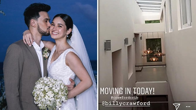 Billy Crawford and Coleen Garcia move into their new home