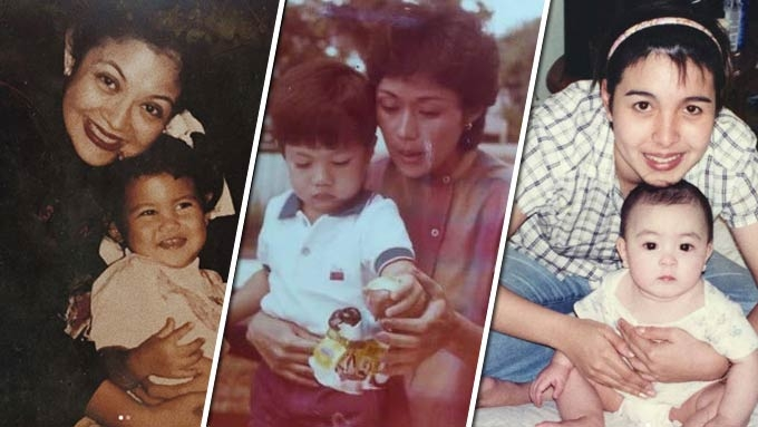 Celebrities greet their moms Happy Mother's Day
