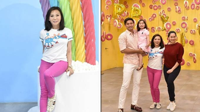 Vicki Belo gets a sweet surprise treat for Mother's Day