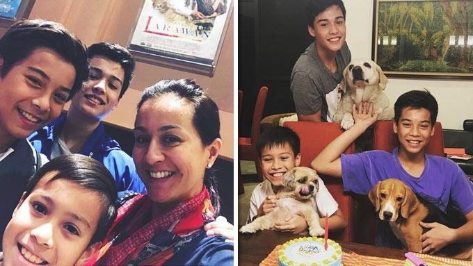 Why Mikee Cojuangco-Jaworski is happy with having sons ...
