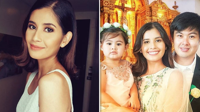 Shamcey Supsup is four months pregnant!