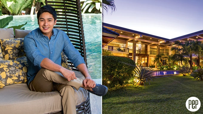 A tour around Coco Martin's resort-style backyard