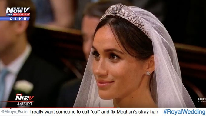 The scene stealer at the wedding of Prince Harry and Meghan