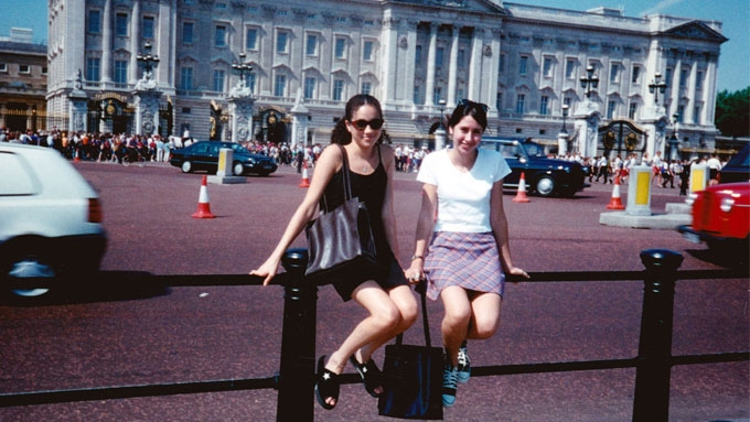This old photo of Meghan shows that fairy tales come true