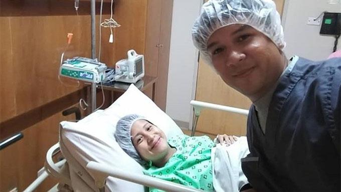 Jolina Magdangal gives birth to Baby Vika Anya