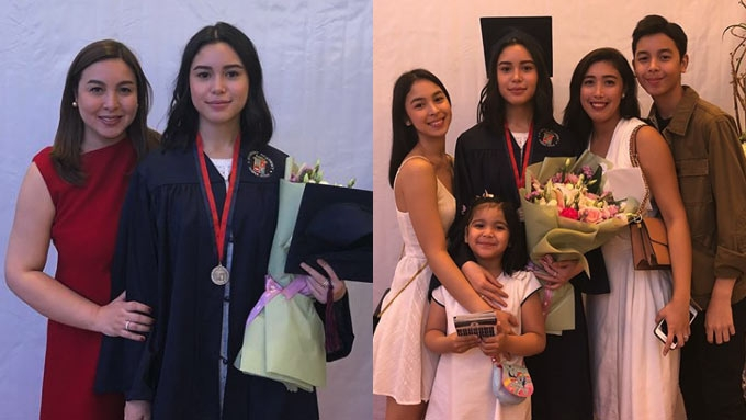 Claudia Barretto graduates from high school with honors