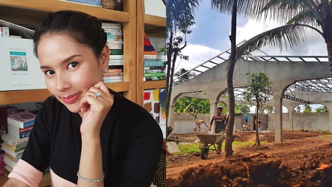 Neri Miranda builds a cozy family place in Alfonso, Cavite